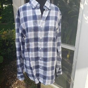 J.CREW Plaid Button Down shirt